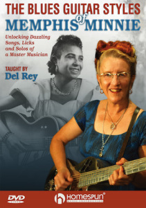 The Blues Guitar Styles of Memphis Minnie DVD