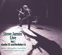 Steve James Live Vol 1 cover